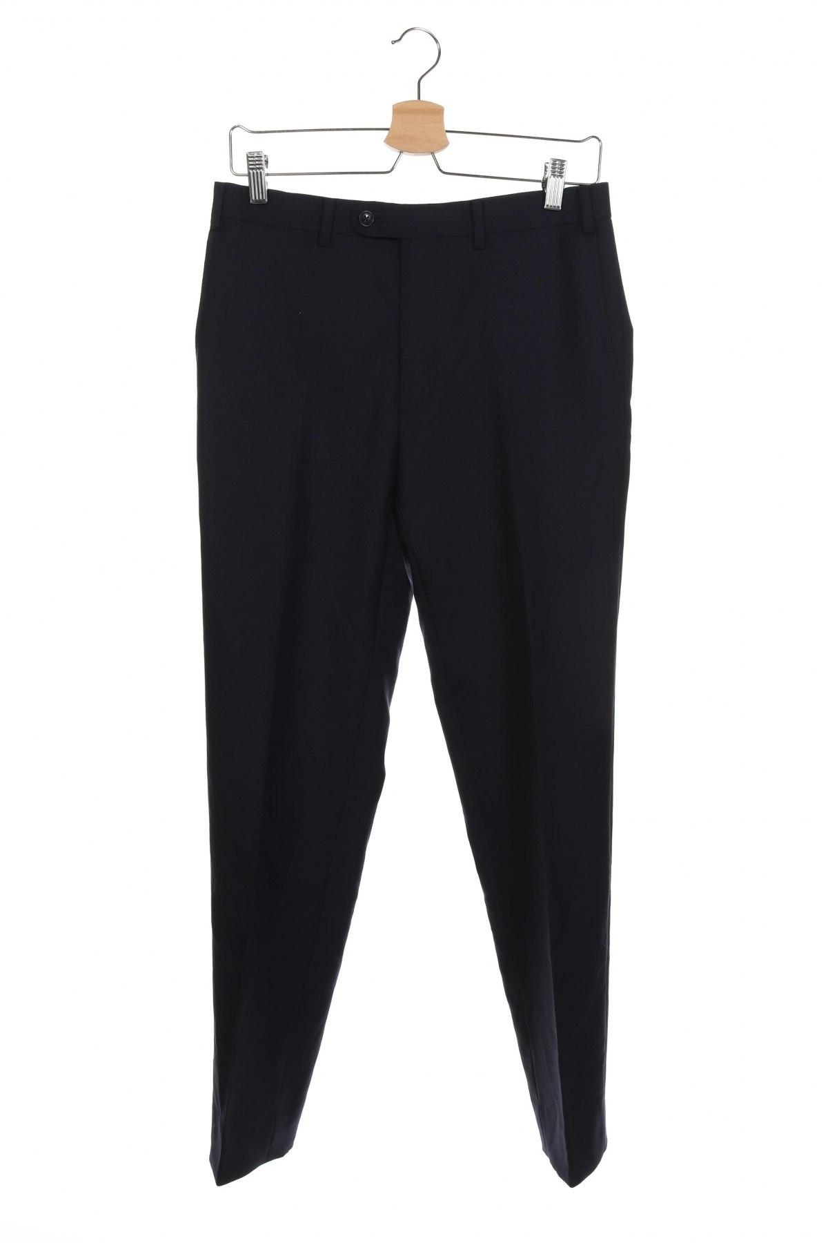 Мъжки панталон, Размер S, Цвят Син, Вълна, Цена 18,32лв.