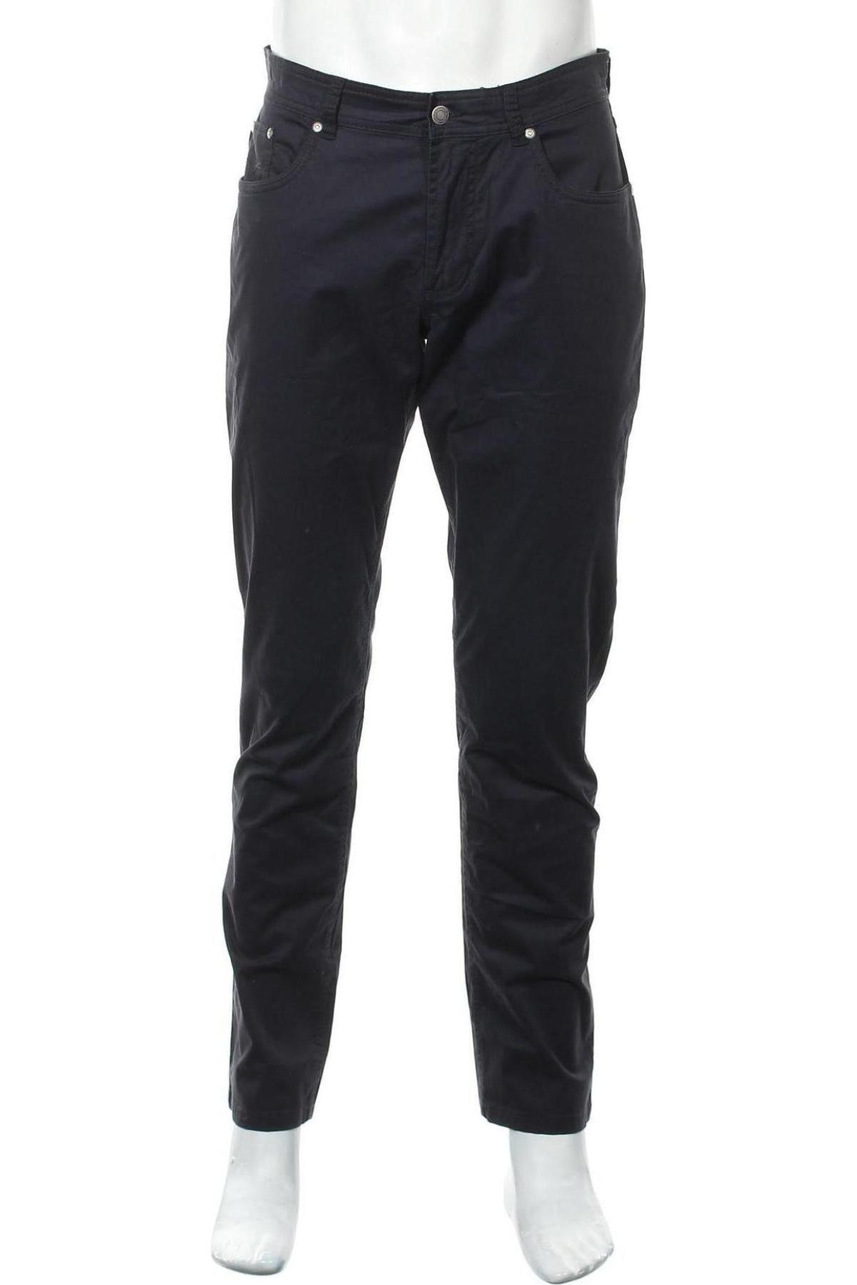 Мъжки панталон Christian Berg, Размер M, Цвят Син, 97% памук, 3% еластан, Цена 57,00лв.