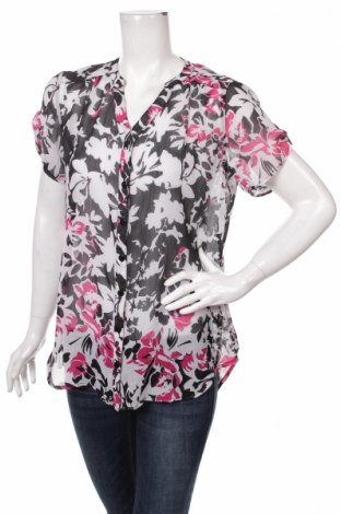Γυναικείο πουκάμισο Dressbarn, Μέγεθος M, Χρώμα Πολύχρωμο, 100% πολυεστέρας, Τιμή 9,28€