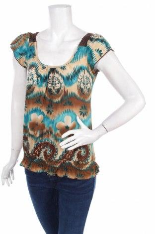 Дамска блуза Agenda, Размер M, Цвят Многоцветен, Цена 5,46лв.