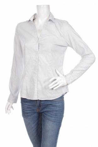 Γυναικείο πουκάμισο, Μέγεθος M, Χρώμα Μπλέ, 67% βαμβάκι, 30% πολυαμίδη, 3% ελαστάνη, Τιμή 17,35€