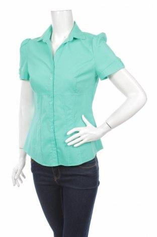Γυναικείο πουκάμισο Atmosphere, Μέγεθος S, Χρώμα Πράσινο, Πολυεστέρας, βαμβάκι, ελαστάνη, Τιμή 11,34€