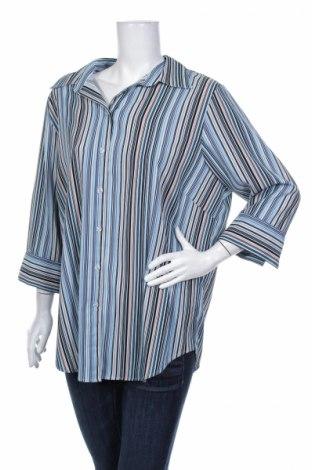Γυναικείο πουκάμισο Canda, Μέγεθος XL, Χρώμα Πολύχρωμο, 96% πολυεστέρας, 4% ελαστάνη, Τιμή 15,46€
