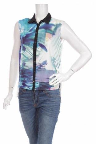 Дамска риза Chic Lady, Размер S, Цвят Бял, 100% полиестер, Цена 4,50лв.
