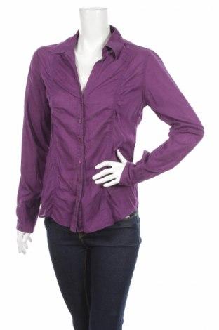 Γυναικείο πουκάμισο Ix-O, Μέγεθος M, Χρώμα Βιολετί, 100% βαμβάκι, Τιμή 15,98€