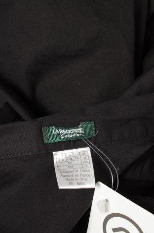Γυναικείο πουκάμισο La Redoute, Μέγεθος S, Χρώμα Μαύρο, 98% βαμβάκι, 2% ελαστάνη, Τιμή 12,37€