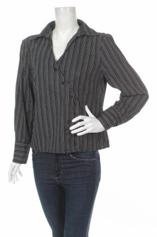 Γυναικείο πουκάμισο Laura Stein, Μέγεθος L, Χρώμα Μαύρο, 98% βαμβάκι, 2% ελαστάνη, Τιμή 15,46€