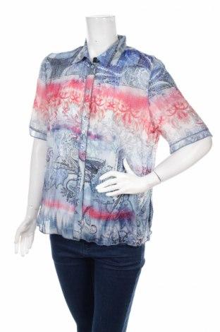 Дамска риза Rabe, Размер L, Цвят Многоцветен, Полиестер, Цена 4,62лв.