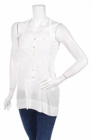 Γυναικείο αμάνικο μπλουζάκι Capasca, Μέγεθος S, Χρώμα Λευκό, 100% βαμβάκι, Τιμή 3,74€