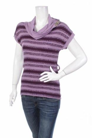 Дамски пуловер, Размер M, Цвят Лилав, 50% вискоза, 50% акрил, Цена 6,20лв.