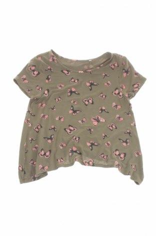 Детска блуза Here+There, Размер 10-11y/ 146-152 см, Цвят Зелен, 96% вискоза, 4% еластан, Цена 8,40лв.