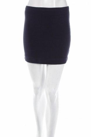 Пола H&M, Размер S, Цвят Син, 95% памук, 5% еластан, Цена 5,40лв.