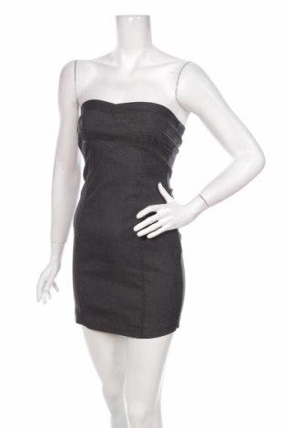 Šaty  Ann Christine, Veľkosť XS, Farba Sivá, 55% polyester, 22% viskóza, 20% polyamide, 3% elastan, Cena  2,20€