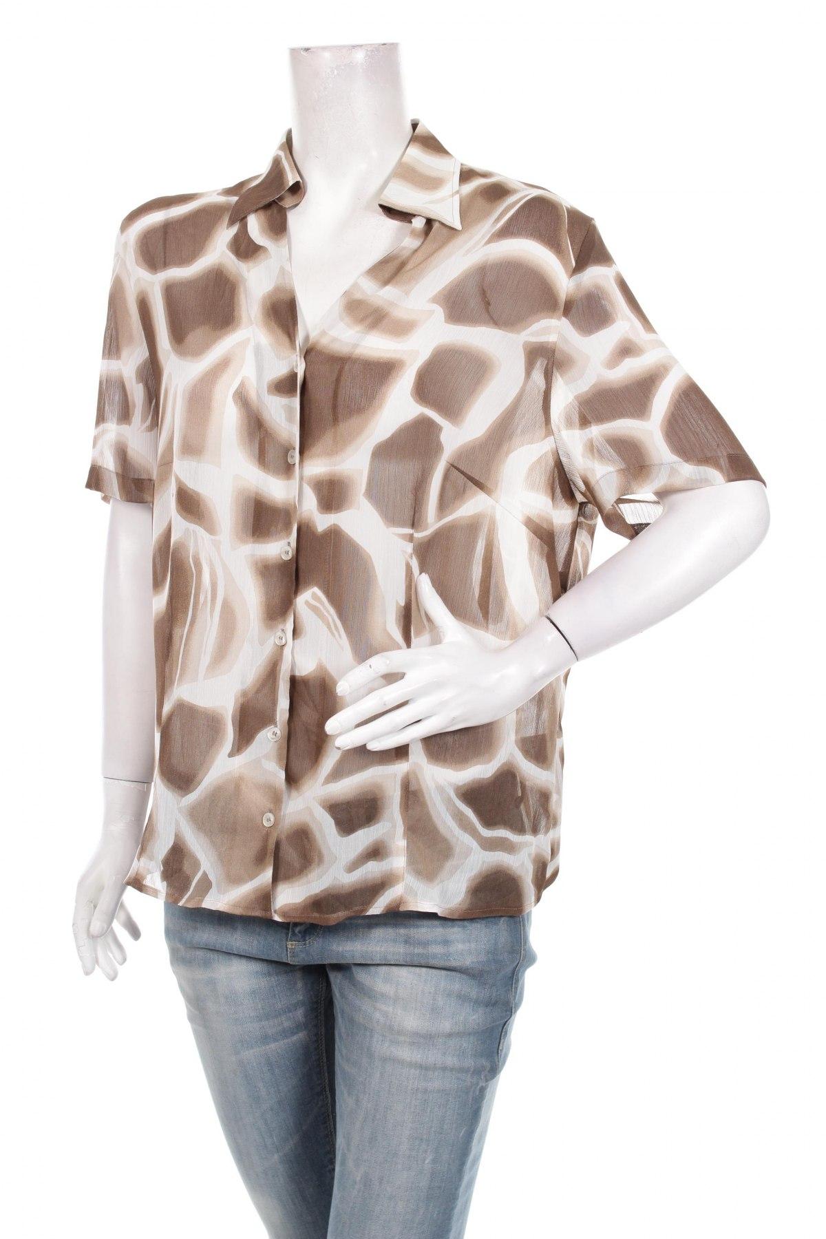 Γυναικείο πουκάμισο Basler, Μέγεθος XL, Χρώμα  Μπέζ, 100% πολυεστέρας, Τιμή 17,94€