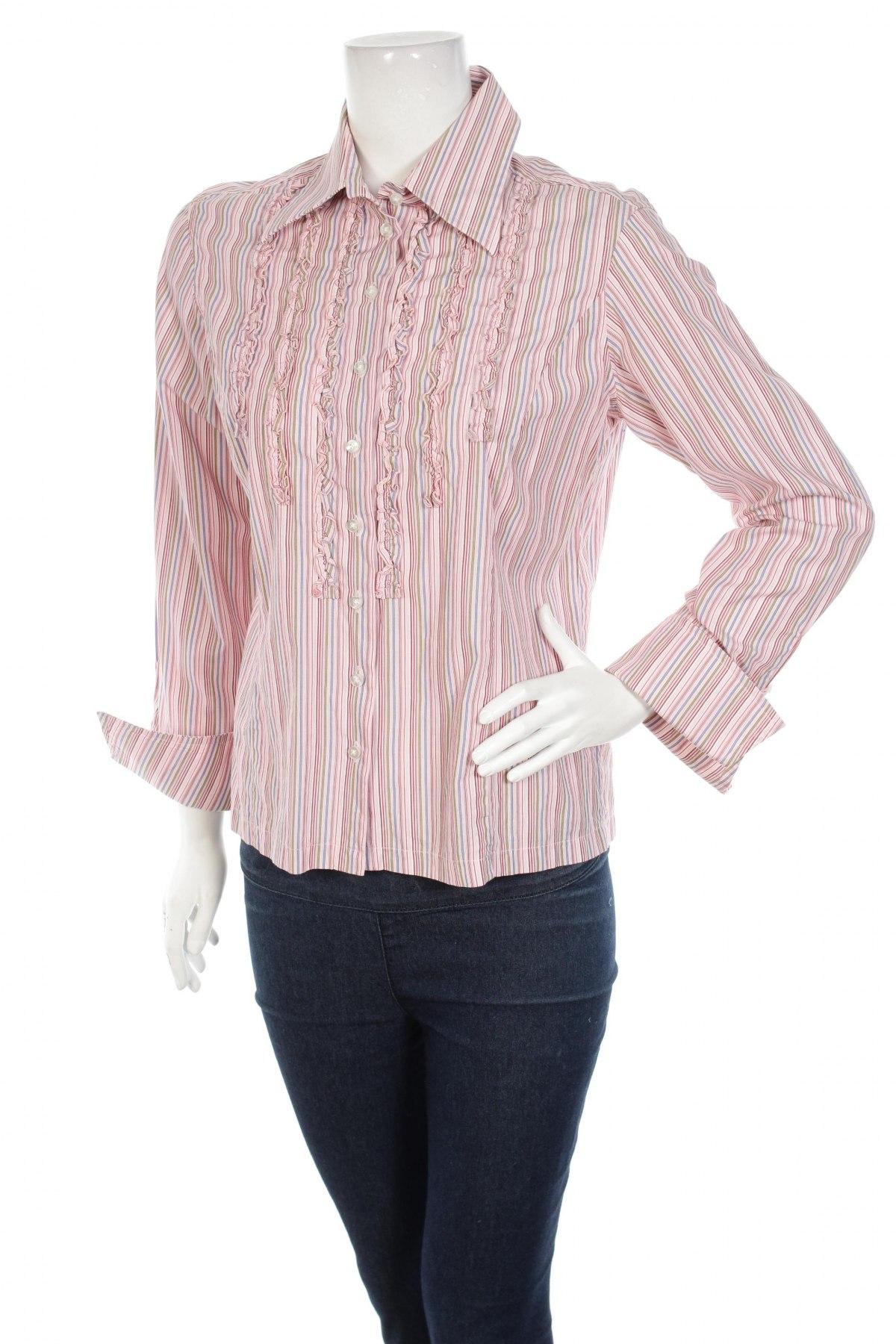 Γυναικείο πουκάμισο The Shirt Factory, Μέγεθος L, Χρώμα Πολύχρωμο, Βαμβάκι, Τιμή 12,99€