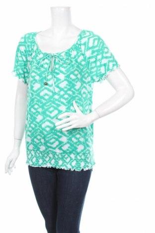 Дамска блуза Agb, Размер L, Цвят Зелен, Полиестер, Цена 4,25лв.