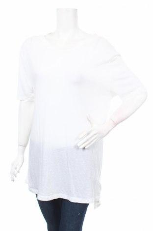 Дамска блуза American Apparel, Размер L, Цвят Бял, 50% памук, 50% модал, Цена 15,50лв.