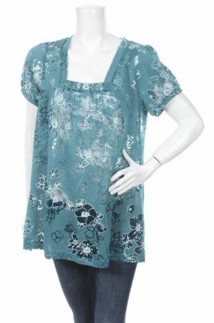 Γυναικεία μπλούζα Flash, Μέγεθος M, Χρώμα Μπλέ, 70% βισκόζη, 30% πολυεστέρας, Τιμή 3,13€