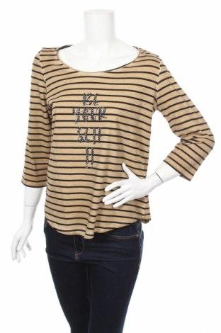 Дамска блуза Gina Laura, Размер S, Цвят Кафяв, 100% памук, Цена 29,90лв.