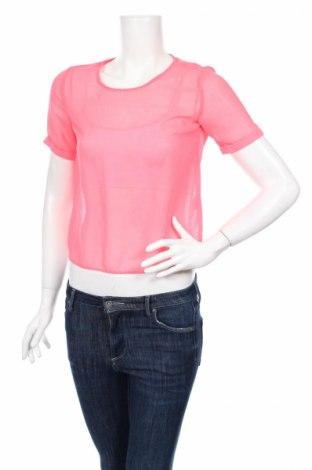 Γυναικεία μπλούζα H&M Divided, Μέγεθος XS, Χρώμα Ρόζ , Πολυεστέρας, Τιμή 2,17€