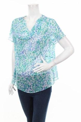 Дамска блуза Jaclyn Smith, Размер L, Цвят Многоцветен, Полиестер, Цена 4,59лв.