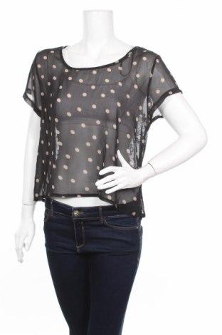 Γυναικεία μπλούζα Qed London, Μέγεθος L, Χρώμα Μαύρο, Πολυεστέρας, Τιμή 2,97€
