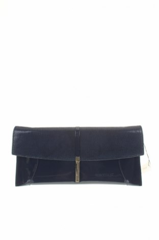 Γυναικεία τσάντα Bosccolo, Χρώμα Μπλέ, Γνήσιο δέρμα, δερματίνη, Τιμή 35,78€