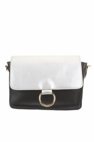 Γυναικεία τσάντα Manoukian, Χρώμα Μαύρο, Δερματίνη, Τιμή 54,95€