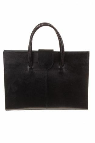 Γυναικεία τσάντα Ore10, Χρώμα Μαύρο, Γνήσιο δέρμα, Τιμή 96,90€