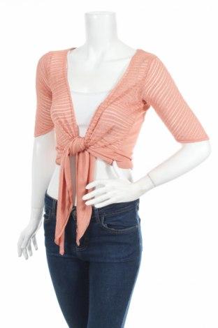 Дамска жилетка Wow Couture, Размер M, Цвят Оранжев, Цена 6,40лв.