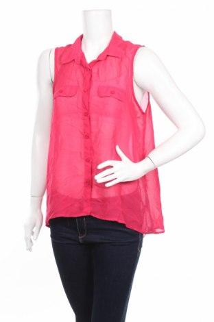 Дамска риза Aeropostale, Размер XL, Цвят Розов, Полиестер, Цена 4,00лв.