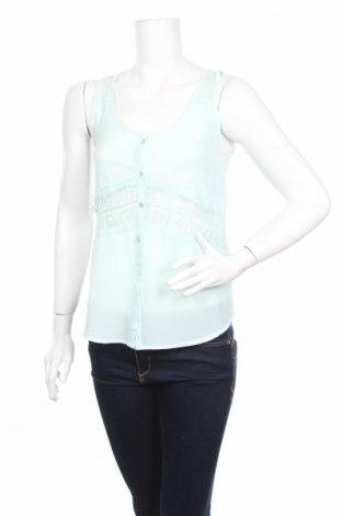 Дамска риза Fb Sister, Размер XS, Цвят Зелен, Полиестер, Цена 4,00лв.