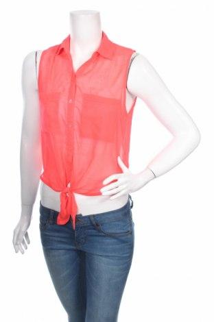 Дамска риза Garage, Размер S, Цвят Розов, Полиестер, Цена 3,50лв.