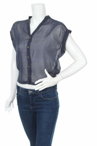 Дамска риза Topshop, Размер XXS, Цвят Син, Цена 5,75лв.