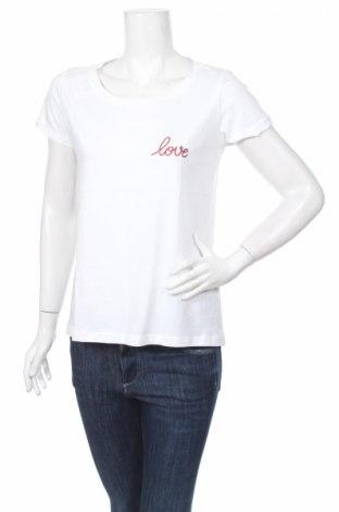 Γυναικείο t-shirt Be Yourself, Μέγεθος M, Χρώμα Λευκό, Βαμβάκι, Τιμή 14,88€
