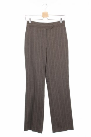 Дамски панталон Anna Montana, Размер S, Цвят Бежов, 65% полиестер, 32% вискоза, 3% еластан, Цена 7,41лв.