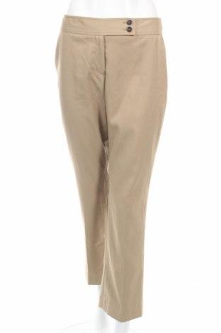 Дамски панталон Anne Klein, Размер S, Цвят Бежов, 73% полиестер, 25% вискоза, 2% еластан, Цена 15,64лв.