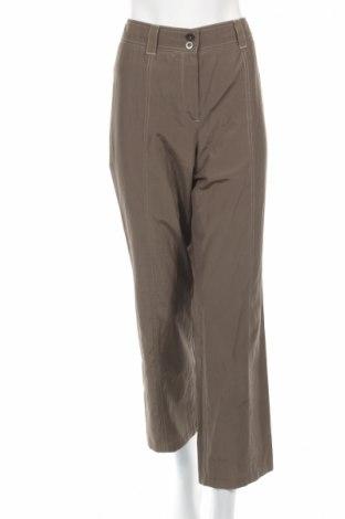 Дамски панталон Gerry Weber, Размер L, Цвят Кафяв, 51% полиестер, 49% памук, Цена 17,34лв.