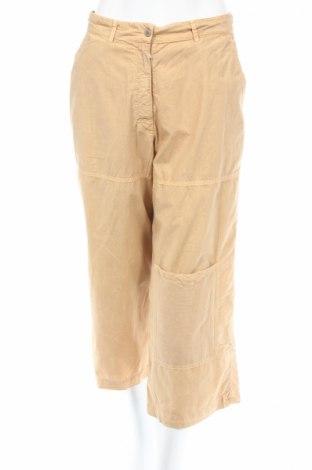 Дамски панталон PLOUMANAC'H, Размер L, Цвят Кафяв, 100% памук, Цена 11,70лв.