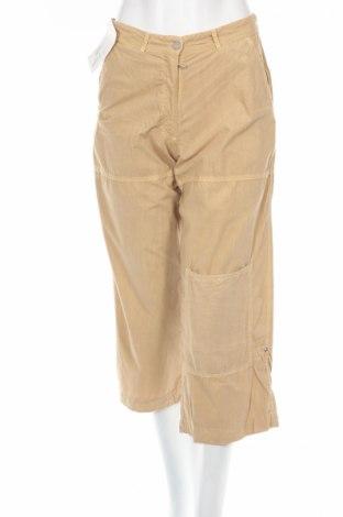 Дамски панталон PLOUMANAC'H, Размер XS, Цвят Бежов, 100% памук, Цена 20,15лв.