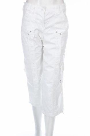 Γυναικείο παντελόνι Style & Co, Μέγεθος M, Χρώμα Λευκό, 98% βαμβάκι, 2% ελαστάνη, Τιμή 4,98€