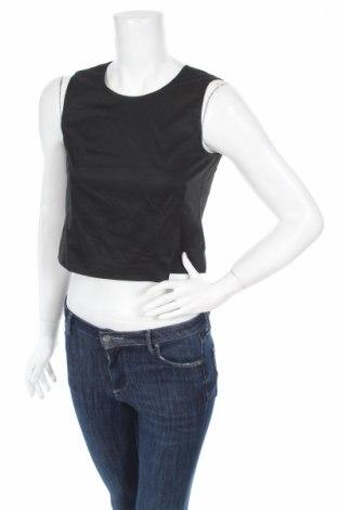 Γυναικείο αμάνικο μπλουζάκι Espirit, Μέγεθος XS, Χρώμα Μαύρο, 96% βαμβάκι, 4% ελαστάνη, Τιμή 12,56€
