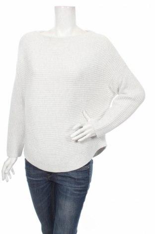Дамски пуловер Oui, Размер L, Цвят Сив, Памук, Цена 56,55лв.