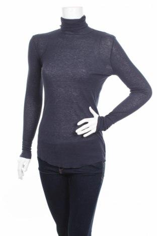 Дамски пуловер United Colors Of Benetton, Размер M, Цвят Син, 70% вискоза, 30% вълна, Цена 48,75лв.