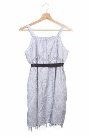 Детска рокля Cadeau, Размер 11-12y/ 152-158 см, Цвят Сив, Полиестер, Цена 6,00лв.