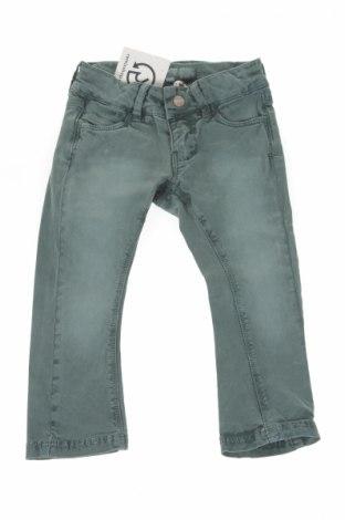 Детски джинси Moodstreet, Размер 18-24m/ 86-98 см, Цвят Зелен, 97% памук, 3% еластан, Цена 48,75лв.