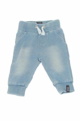 Детски панталон Beebielove, Размер 1-2m/ 50-56 см, Цвят Син, 95% памук, 5% еластан, Цена 26,00лв.