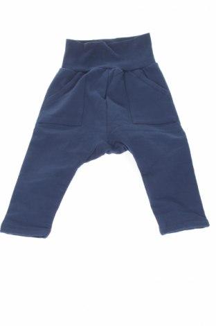 Детски панталон Steiff, Размер 12-18m/ 80-86 см, Цвят Син, 95% памук, 5% еластан, Цена 38,35лв.
