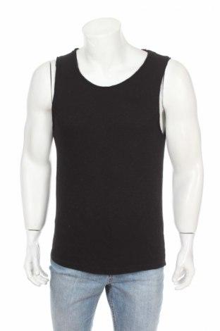 Pánske tielko  Review, Veľkosť XS, Farba Čierna, 55% bavlna, 42% polyester, 3% elastan, Cena  4,95€