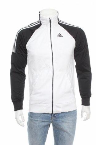 Мъжко спортно горнище Adidas, Размер S, Цвят Бял, Полиестер, Цена 63,70лв.